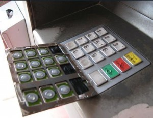 Always check the keypad on the ATM you are about to use.